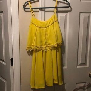 GB yellow dress!